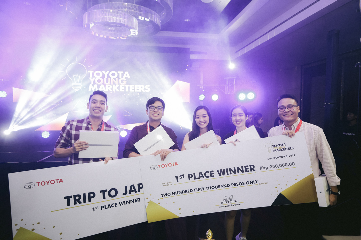 HOW THIS TEAM FROM UP DILIMAN DOMINATED TOYOTA YOUNG MARKETEERS CHALLENGE
