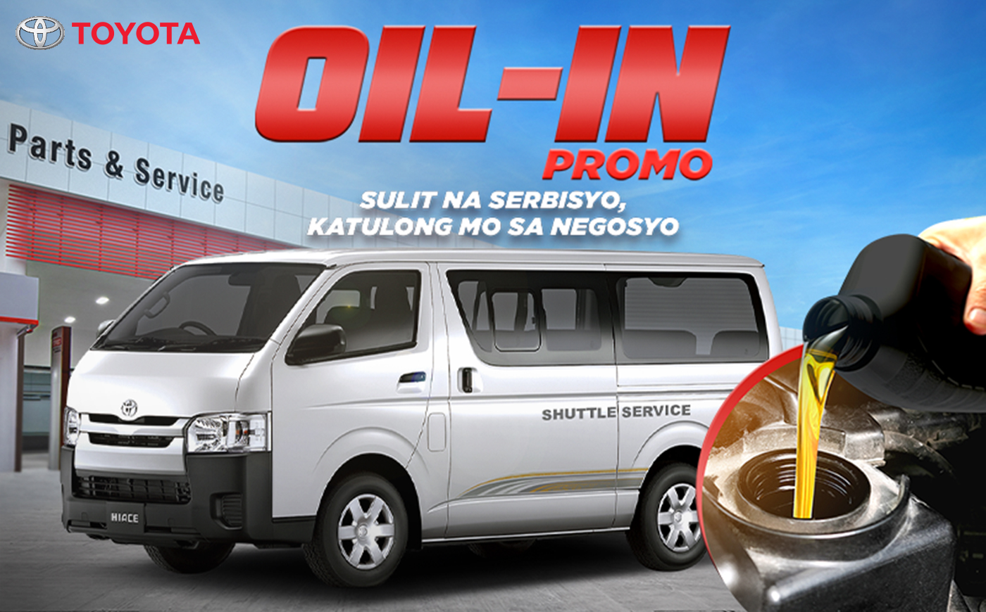 Toyota gives Hiace Commuter owners livelihood push