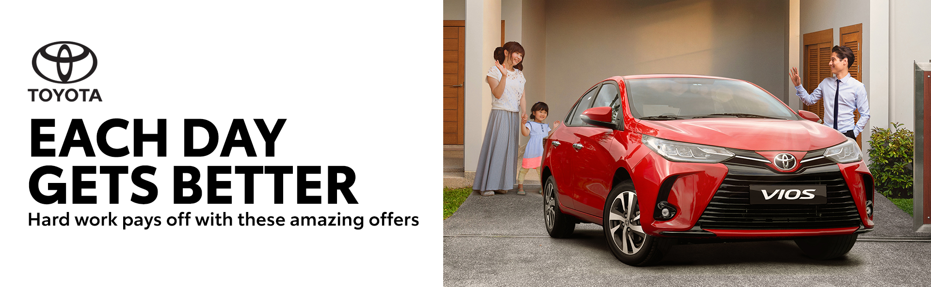 Each Day Gets Better this June with Toyota