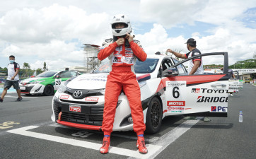 TOYOTA GAZOO Racing Vios Cup launches the 2021 season with an action-packed race weekend