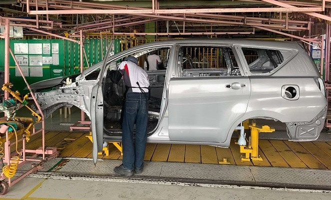 Toyota Motor Philippines Restarts Operations In Santa Rosa Manufacturing Plant