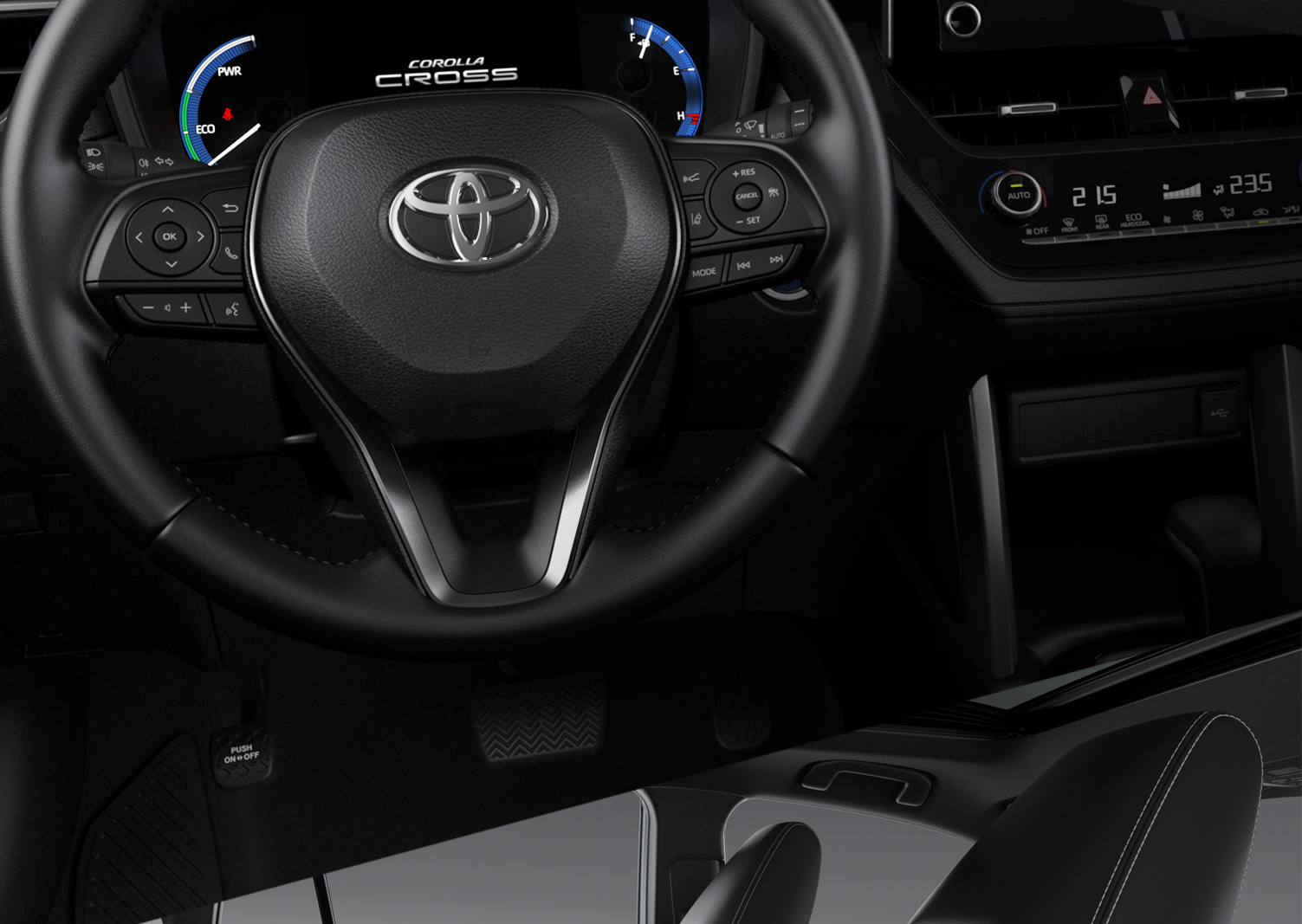Comfortable steering, and more